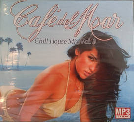 MP3 диск. Cafe del Mar - Chill House Mix Vol.3