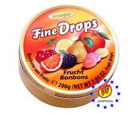 Woogie Конфеты Fine Drops леденцы со вкусом апельсина 200г