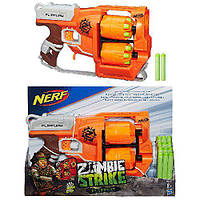 Бластер Нерф Зомби страйк Переворот A9603 Nerf Zombie Strike Flipfury Blaster