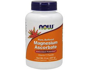 Витамины NOW Foods Magnesium Ascorbate 227 g