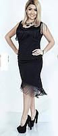 Женский костюм юбка и кофта в большом размере, фото 1