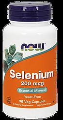 Витамины NOW Foods Selenium 200mcg 90 caps