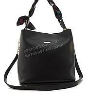 Оригинальная качественная суперстильная сумка с эко кожи очень высокого качества B.Elite art. 08-15 черная, фото 1