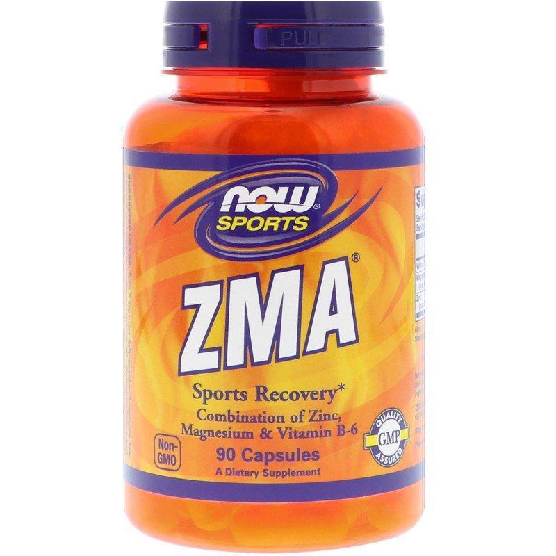 Тестобустер NOW Foods ZMA 90 caps