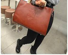 Большая деловая сумка с тавром, фото 3