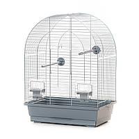 Клетка для маленьких попугаев Inter Zoo LUSI 1 Zinc (39х25х53см)