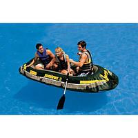 Трёхместная надувная лодка Seahawk 3 Intex
