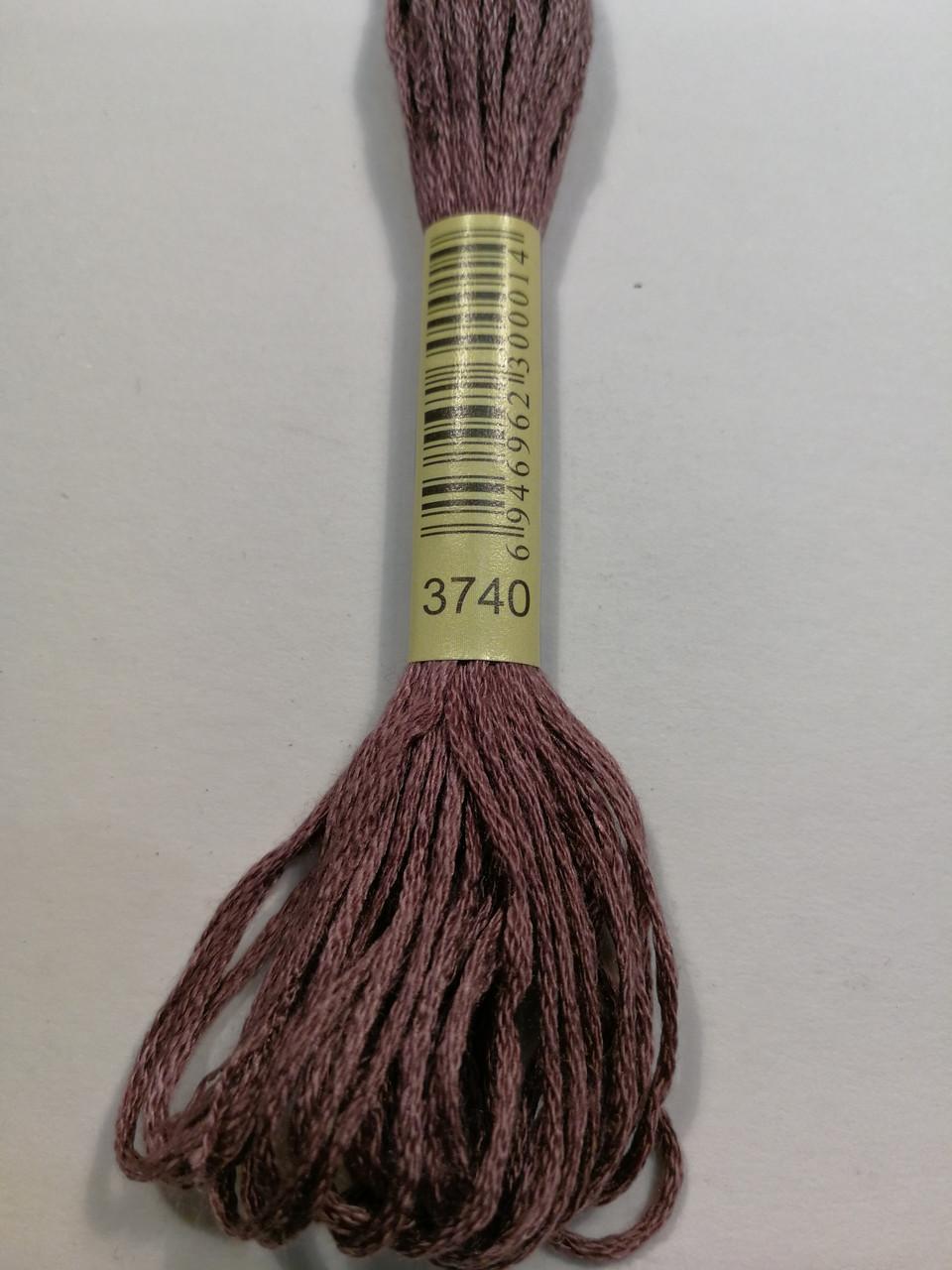 Мулине СХС 3740 фиолетовый античный темный