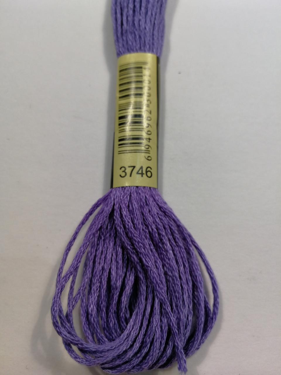 Мулине СХС 3746 сине-фиолетовый темный