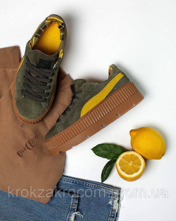 online store c2b90 a245a Кроссовки Puma Creeper Platform leather by Rihanna replica AAA: продажа,  цена в Львове. кроссовки, кеды ...