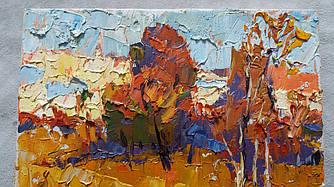 Осінь картина Олексія Іванюка