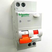 Дифференциальный автомат АД63 2P 25А 300мА (х-ка С) Schneider Electric