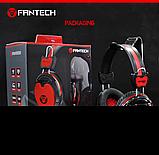 Наушники с микрофоном и регулятором громкости Fantech Shaco HG5 Black/Red (HG5), фото 7