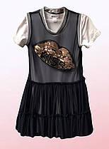 Платье для девочек с пайетками (3103/3)