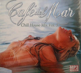 MP3 диск. Cafe del Mar - Chill House Mix Vol.5