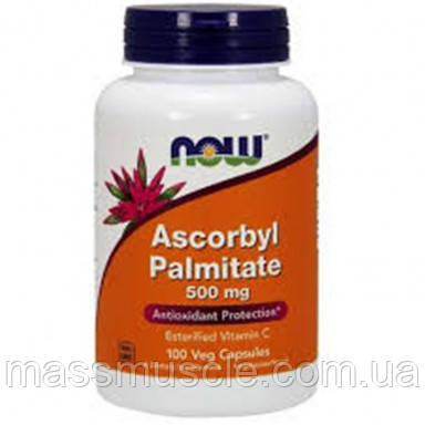 Витамины NOW Foods Ascorbyl Palmitate 500mg 100 caps