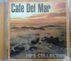 MP3 диск. Cafe del Mar - The Best Music Band