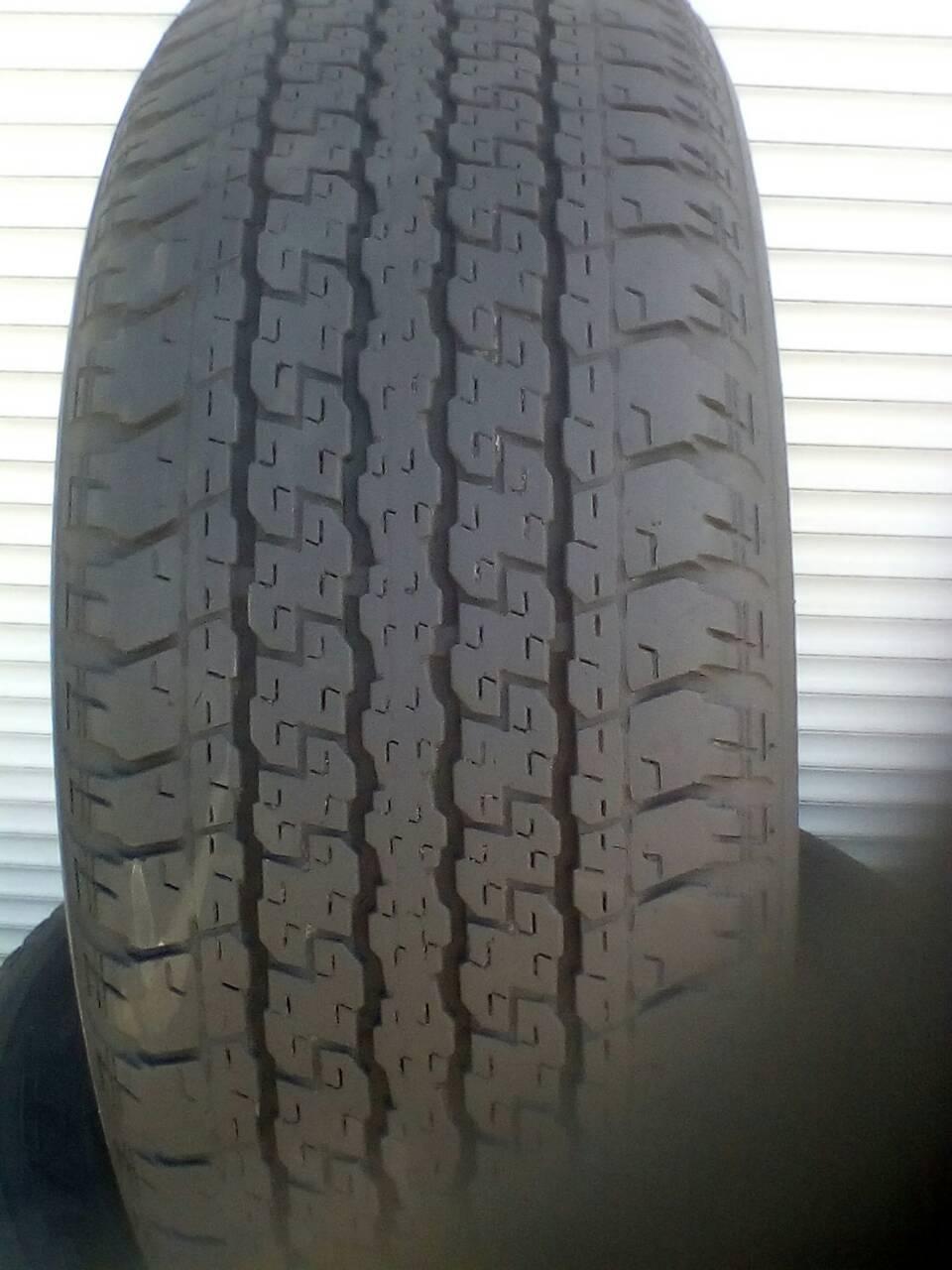 Шины б\у, летние: 265/65R17 Bridgestone Dueler HT 840