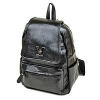 Стильний міський рюкзак для дівчини чорний