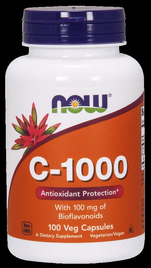Витамины NOW Foods C - 1000 250 caps