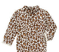 Леопардовый трикотажный гольфик (Размер 4Т)  Gymboree (США)