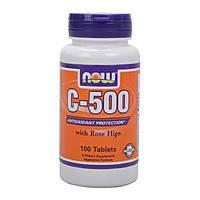 Витамины NOW Foods C - 500 100 tabs