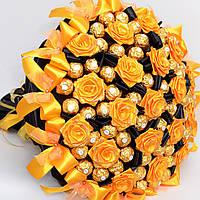Большой букет из конфет Ferrero Rocher № 70 (мужчине, для руководителя, учителю) Солидный подарок