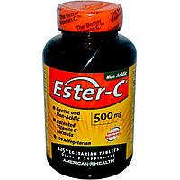 American Health, Эстер-C, 500 мг, 225 таблеток в растительной оболочке