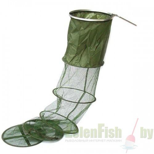 Садок рыболовный Fish, длинна 1.80 метра, идеально подойдет для большого улова