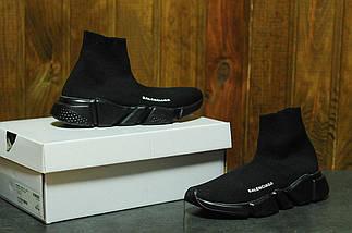 Женские кроссовки Balenciaga Sock trainer black, фото 3