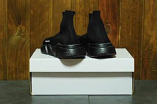 Женские кроссовки Balenciaga Sock trainer black, фото 2