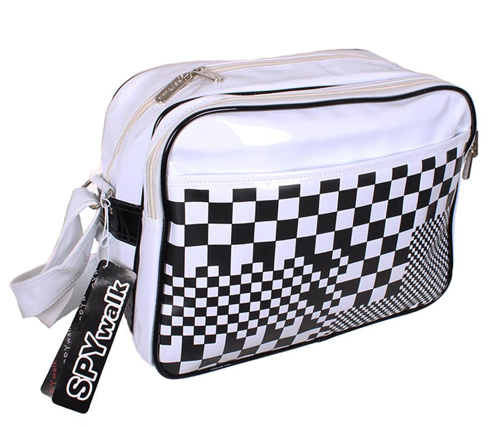 Спортивная сумка из искусственной кожи sport302723 белая