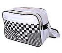 Спортивная сумка из искусственной кожи sport302723 белая, фото 2
