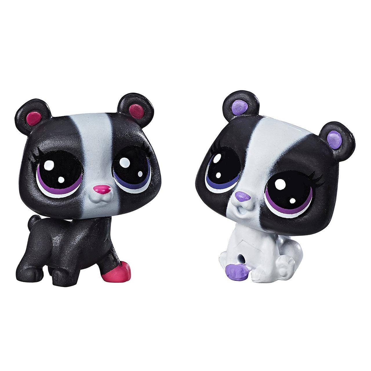 Littlest Pet ShopМедвежата Маленький зоомагазин  Black & White Bear