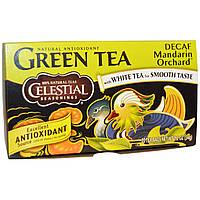 Celestial Seasonings, Green Tea, Decaf, Mandarin Orchard, 20 Tea Bags, 1 Tea Bag (2 g)