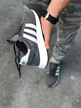 Женские кроссовки Adidas Iniki runner Grey, фото 3