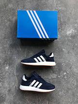 Женские кроссовки Adidas Iniki runner Blue, фото 2