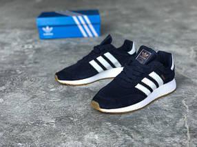Мужские кроссовки Adidas Iniki runner Blue, фото 3