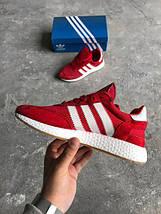 Женские кроссовки Adidas Iniki runner Red, фото 3