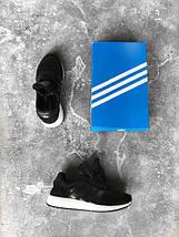 Женские кроссовки Adidas Iniki runner black white, фото 2