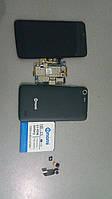 Телефон Nomi i505 Jet Black на запчасти или восстановление, фото 1
