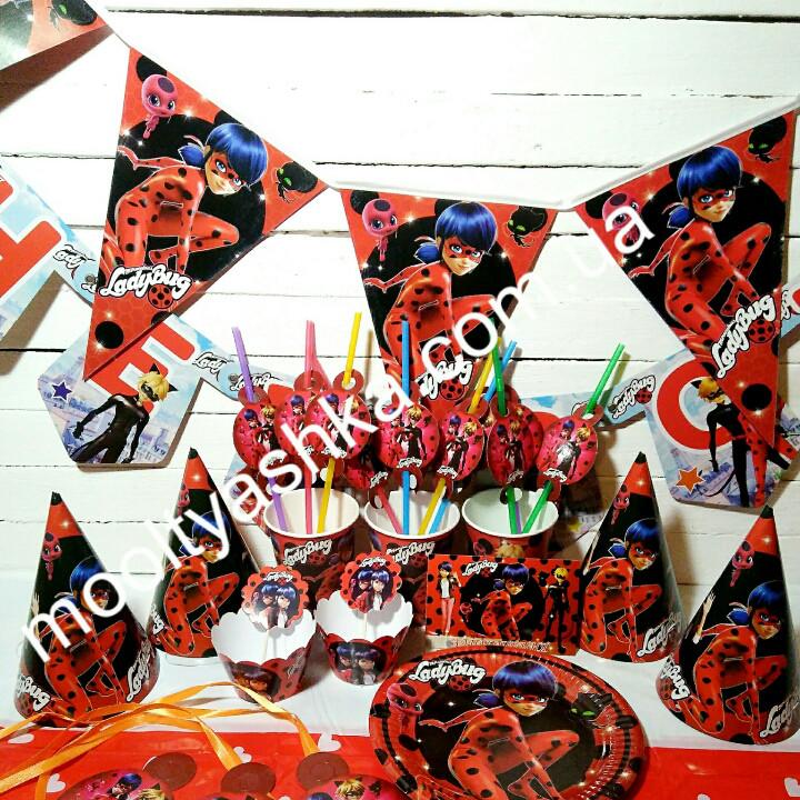 С коронами набор для дня Рождения Леди Баг и Супер Кот