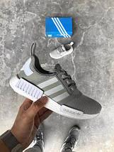 "Мужские кроссовки Adidas NMD R1 ""Charcoal Grey"", фото 3"