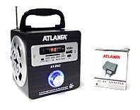 Портативная акустическая система ATLANFA R62 ( портативный радиоприемник )