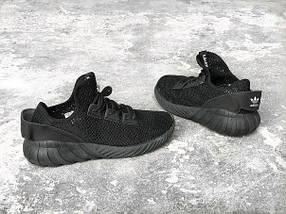 Мужские кроссовки Adidas Tubular Doom Sock Black, фото 2