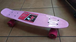 Скейт MS301307 пенні, ПУ колеса, алюмінієва підвіска, підшибник ABEC-7, розміри 56,5-15 см.