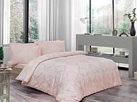 Комплект постельного белья ТАС Blanche pudra ранфорс 220-200, фото 1