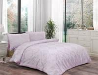 Комплект постельного белья ТАС Blanche lila ранфорс 220-200, фото 1