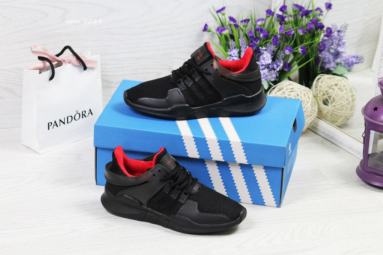 Кроссовки женские Adidas Equipment adv 91-17,черные