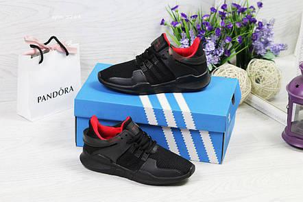 Кроссовки женские Adidas Equipment adv 91-17,черные, фото 2